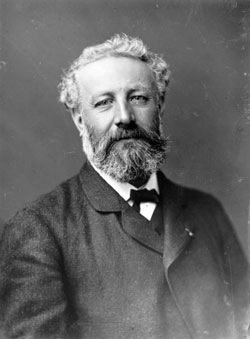 Picture of Jules Verne taken by Nadar